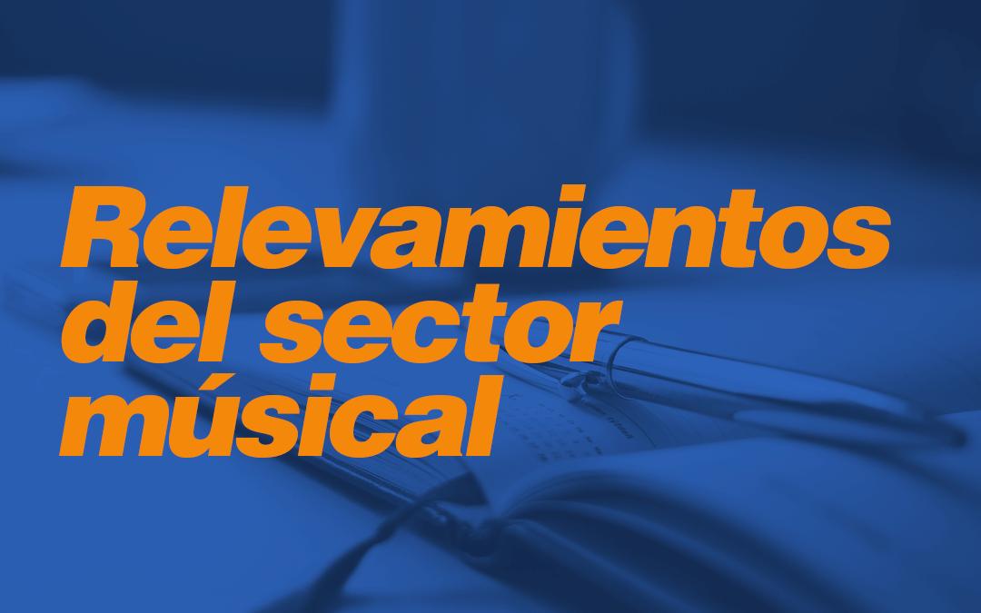 Relevamientos del sector musical