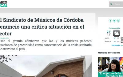 comunicado de prensa en Diario Sindical