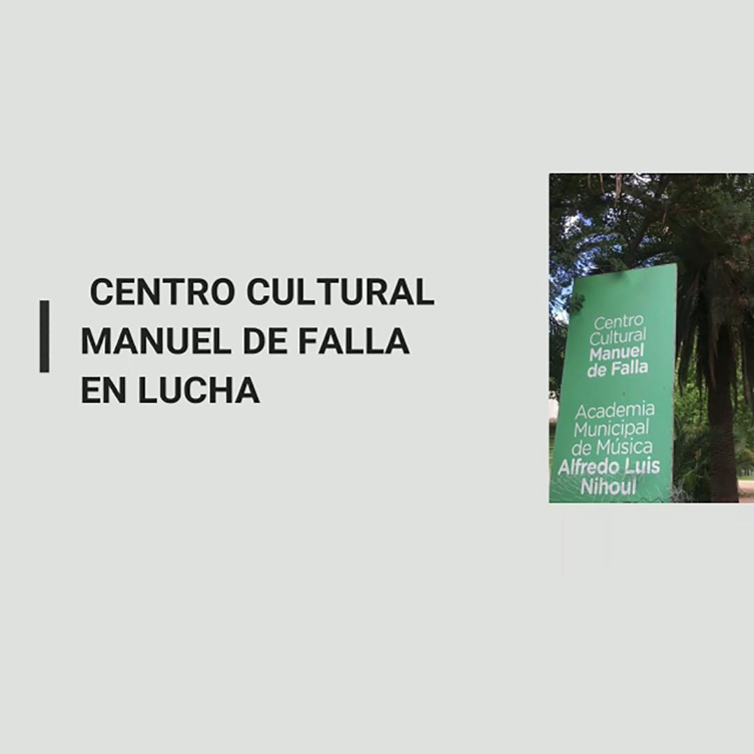 reclamo centro cultural manuel de falla