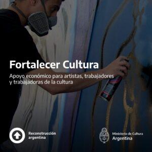 se publico la lista de beneficiarios del programa fortalacer cultura fna cordoba argentina 2020