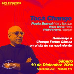 18-12-20_toca-chango-homenaje-a-chango-farias-gomez-Paola-Bernal-en-voz-y-bombo-Diego-Bravo-en-piano-y-Pichi-Pereyra-en-percusion