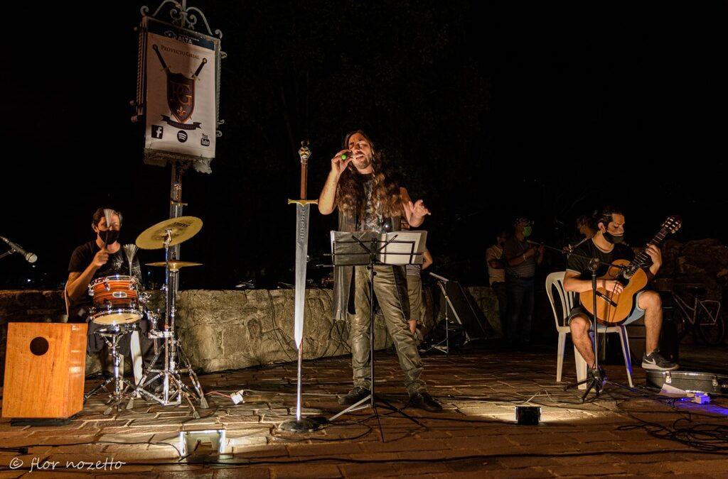 """Proyecto Grial presentándose en la """"10ma feria medieval"""" de Tu Legado Medieval AG"""